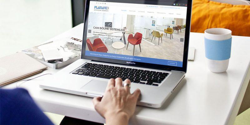Planart Yapı Web Sitesi