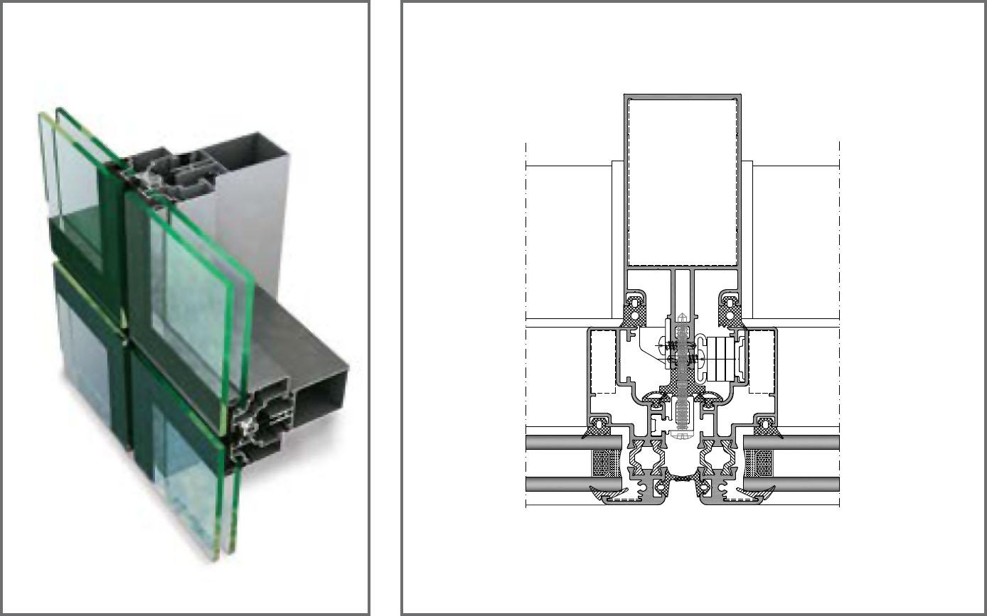 FC50-AS Giydirme Cephe Sistemleri