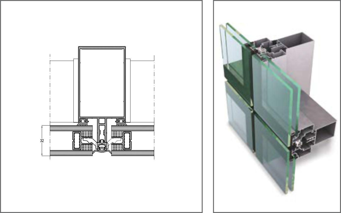 FC50-AST Giydirme Cephe Sistemleri