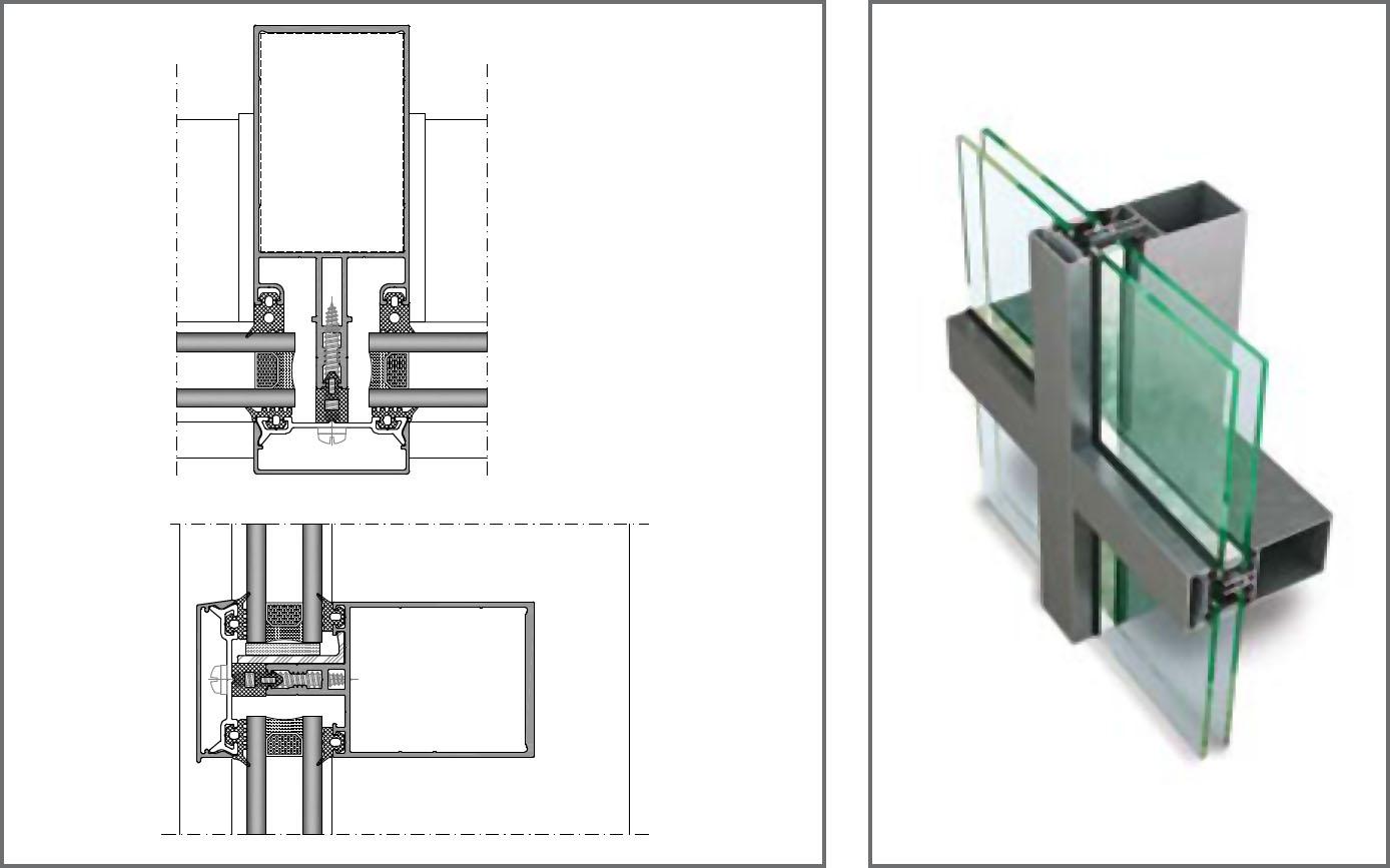 Giydirme Cephe Sistemi FC50-AS