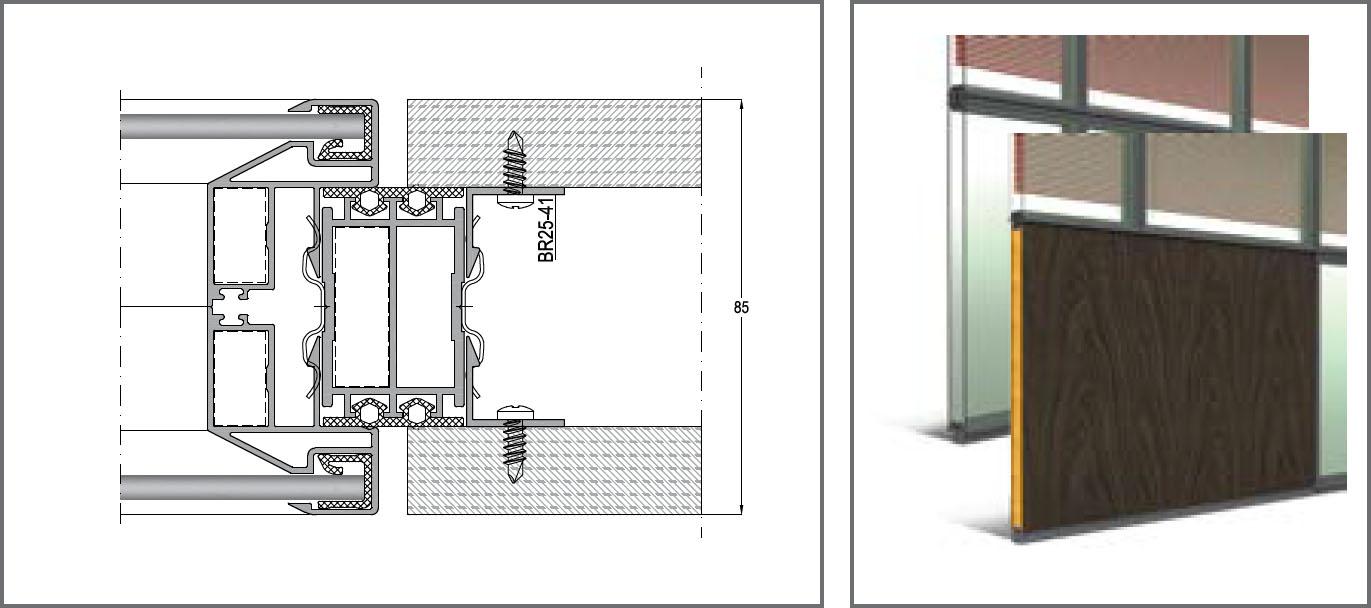 Çift Cam İç Bölme Sistemleri - INFERNO 85