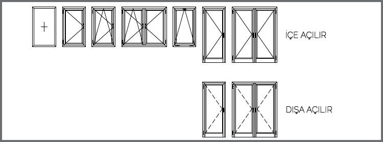 TE62 Kapı ve Pencere Sistemleri