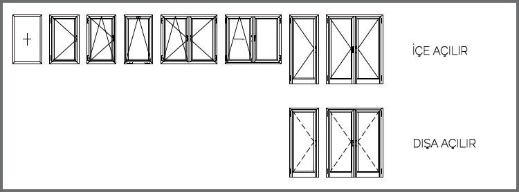 TM55 Pencere ve Kapı Sistemleri